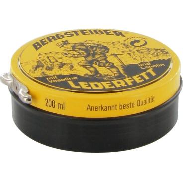 Effax Bergsteiger Lederfett 200 ml - Dose, schwarz