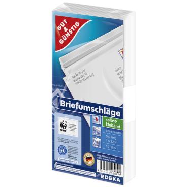 Briefumschlag, DIN lang