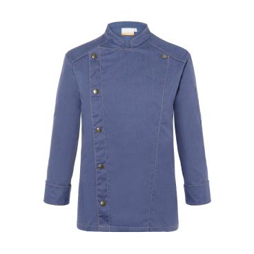 Karlowsky Jeans-Style Kochjacke, vintage blue