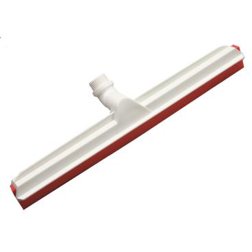 Haug Gelenk-Wasserschieber mit Wechselprofil Lebensmittelgummi rot
