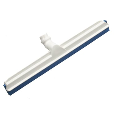Haug Gelenk-Wasserschieber mit Wechselprofil Lebensmittelgummi blau