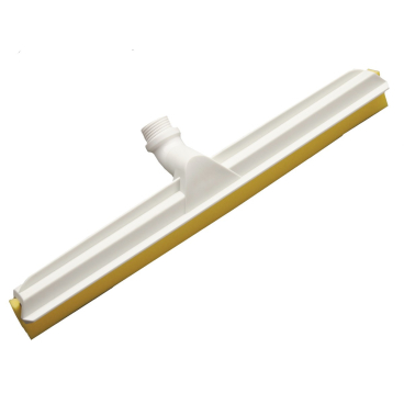 Haug Gelenk-Wasserschieber mit Wechselprofil Lebensmittelgummi gelb