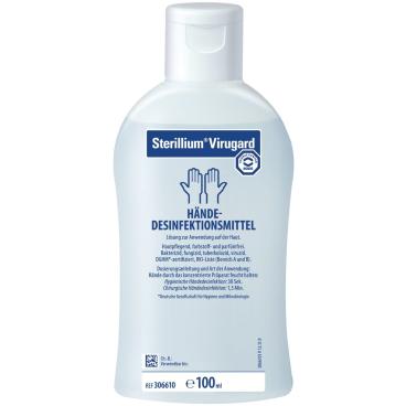 Bode Sterillium® Virugard Händedesinfektionsmittel 100 ml - Flasche (1 Karton = 45 Flaschen)