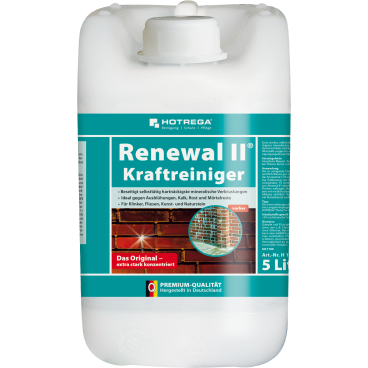 HOTREGA® Renewal II - Kraftreiniger