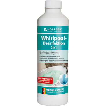 HOTREGA® Whirlpool-Desinfektion 2 in1