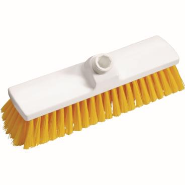 Haug Besen, 300 x 70 mm, geschlitzes Faserende Besatzfarbe: gelb