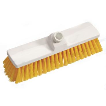 Haug Besen, 300 x 70 mm, ungeschlitzes Faserende Besatzfarbe: gelb