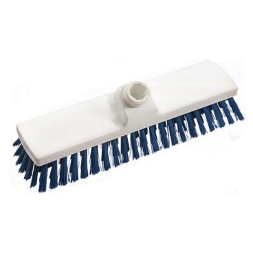 Haug Besen, 300 x 70 mm, ungeschlitzes Faserende Besatzfarbe: blau
