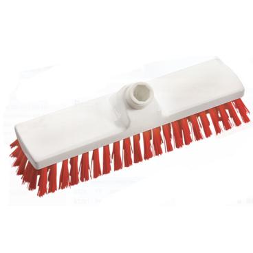Haug Besen, 300 x 70 mm, ungeschlitzes Faserende Besatzfarbe: rot