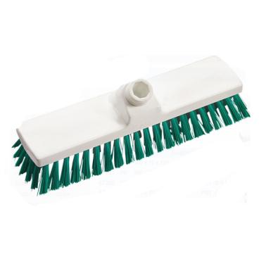 Haug Besen, 300 x 70 mm, ungeschlitzes Faserende Besatzfarbe: grün