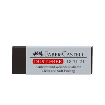 Faber-Castell DUST FREE Kunststoff-Radierer