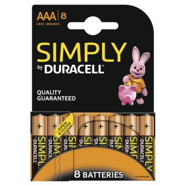 DURACELL Simply AAA Alkaline- Batterie