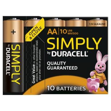 DURACELL Simply AA Alkaline- Batterie