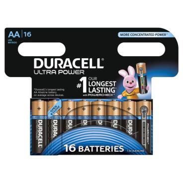 DURACELL Ultra Power AA Alkaline- Batterie, 1,5 V