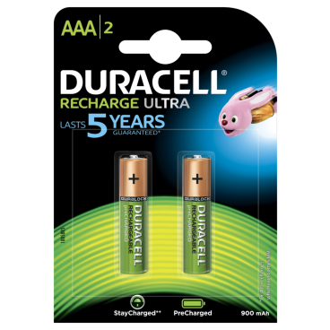 DURACELL Recharge Ultra AAA Akku-Batterie