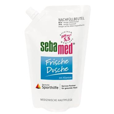 sebamed Frische Dusche Duschgel, Nachfüllbeutel 400 ml - Beutel