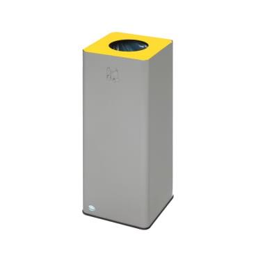 VAR WSG Quadro 79 Wertstoffsammler, 81 Liter Farbe: gelb