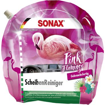SONAX Pink Flamingo Scheibenreiniger