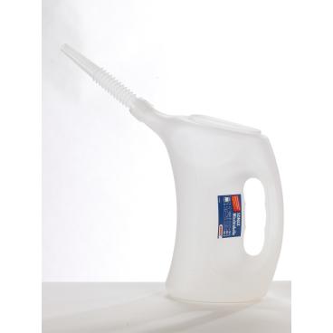 SONAX Messbecher mit flexiblem Schlauch, 2 Liter