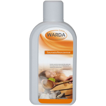 Warda Sauna-Duft-Konzentrat Euka-Minze 1000 ml - Flasche