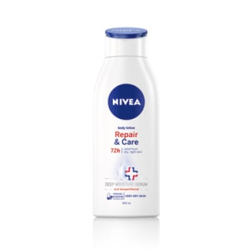 NIVEA Repair & Care Body Lotion, 72 h