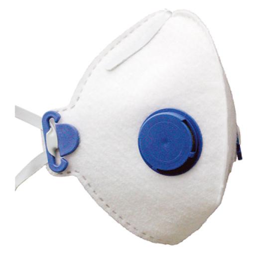 Feinstaubfiltermaske, FFP1 D, mit Ventil