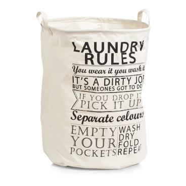 Zeller Laundry Rules Wäschesammler