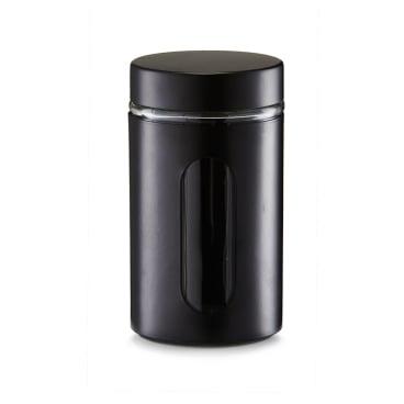 Zeller Vorratsglas, schwarz