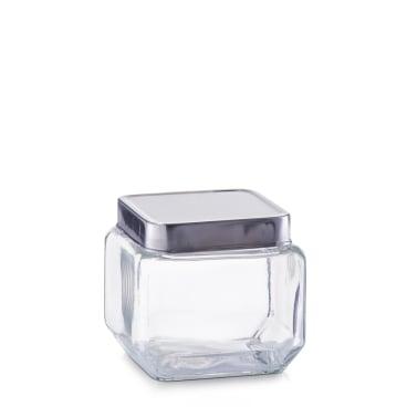 Zeller Vorratsglas mit Edelstahldeckel