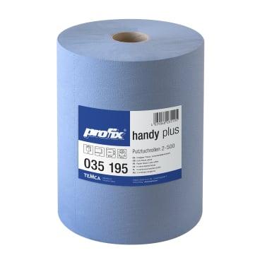 profix® handy plus Putztuchrolle, 36 x 38 cm, 2-lagig, blau