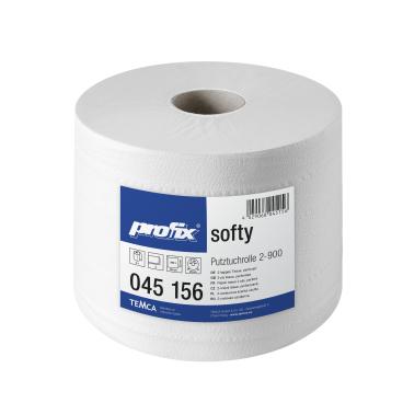 profix® softy Putztuchrolle, 36 x 22 cm, 2-lagig, hochweiß