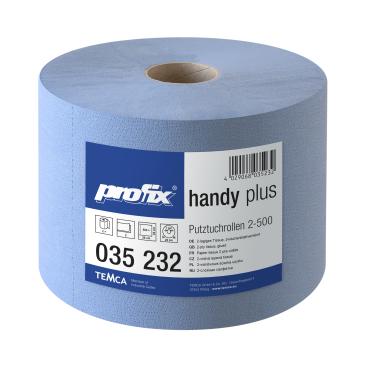 profix® handy plus Putztuchrolle, 36 x 22 cm, 2-lagig, blau