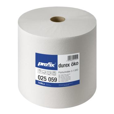 profix® durex Öko Putztuchrolle, 36 x 38 cm, 3-lagig, weiß