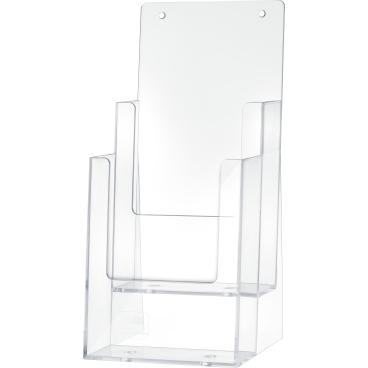 helit the helpdesk Tischprospekthalter, für 1/3 DIN A4