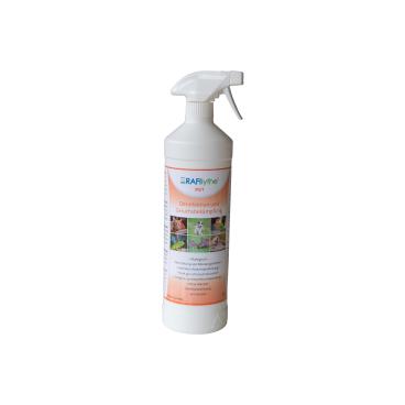 RAFIlythe® PET Desinfektion und Geruchsbekämpfung