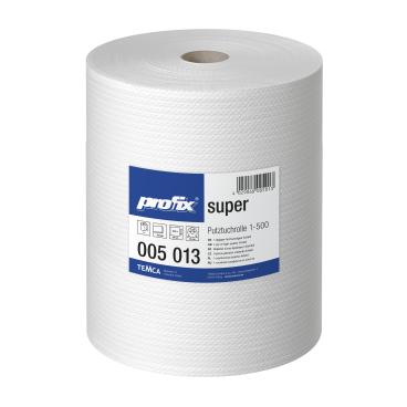 profix® super Wischtuchrolle, 38 x 40 cm, hochweiß