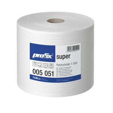 profix® super Wischtuchrolle, 38 x 27 cm, hochweiß