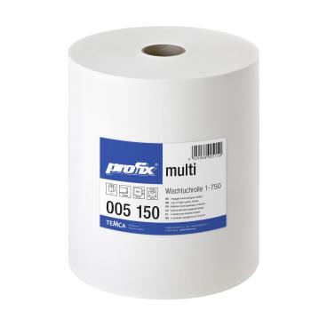 profix® multi Wischtuchrolle, 40 x 38 cm, hochweiß