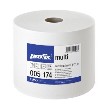 profix® multi Wischtuchrolle, 38 x 27 cm, hochweiß