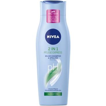 NIVEA® Hair Care  2in1 Pflege Express Pflegeshampoo & Spülung