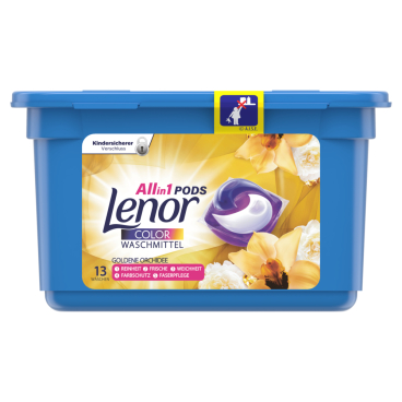 Lenor All in 1 PODS Goldene Orchidee Colorwaschmittel