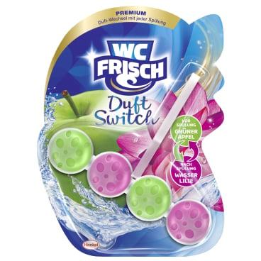 WC Frisch Premium Duft Switch Duftspüler Grüner Apfel + Wasser Lilie, 1 Stück