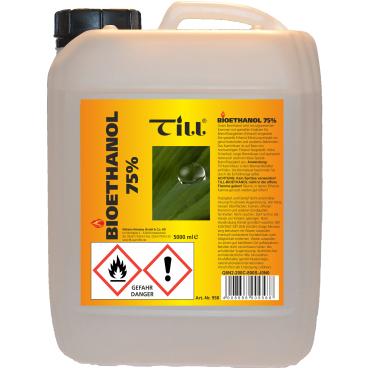 TILL Bioethanol 75% Spezial-Brennflüssigkeit