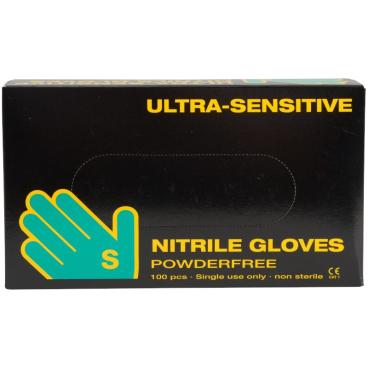 ABENA® Ultra Sensitiv Nitrilhandschuhe, schwarz