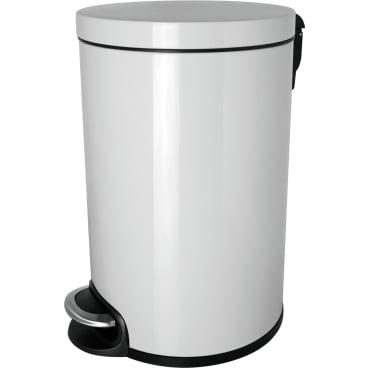 """helit """"the silent"""" Metall-Tretabfallbehälter, 5 Liter"""
