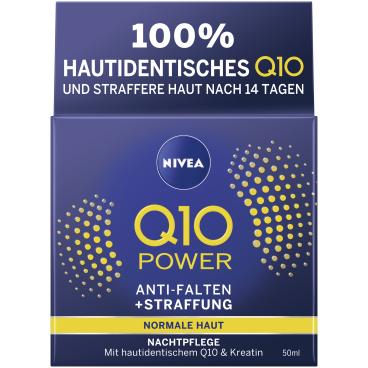 NIVEA® Q10 Power Anti-Falten + Straffung Nachtpflege
