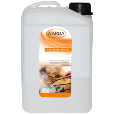 Warda Sauna-Duft-Konzentrat Minze-Apfel 5 l - Kanister