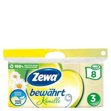 Zewa Bewährt Kamille Toilettenpapier