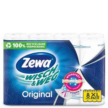 Zewa Wisch & Weg Küchenrolle Original