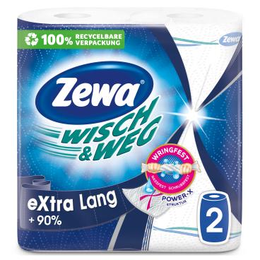 Zewa Wisch & Weg Küchenrolle eXtra Lang Original